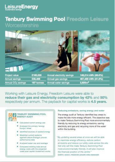 Tenbury Leisure Centre - Leisure Energy Case Study