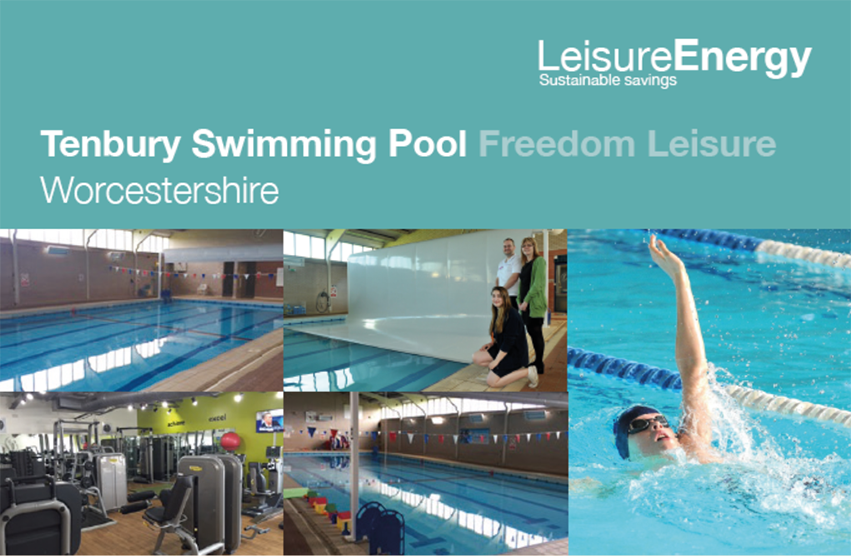 Tenbury Swimming Pool reduces gas consumption by 51%